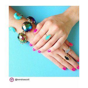Kendra Scott Iridescent Black Cassie Bracelet